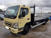 Mitsubishi Canter Converted Recovery Truck. 7.5 ton. 2007 ****MILES IN KM*****