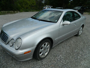 2002 Mercedes CLK320 Coupe, LOW KMS, MINT CONDITION, CERTIFIED