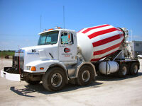 DZ Drivers Wanted for Concrete Mixers and Stone Slinger