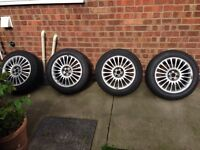 "Alloys Vw Audi skoda seat Leon cupra 16"" alloy wheels 5x100 fitment"