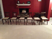 Antique Chairs / Harp Backed Chairs