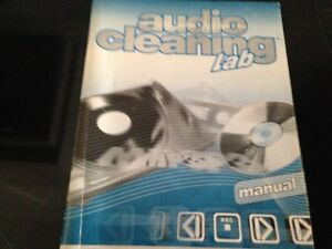 Audio Cleaning Lab -- LP Converting Software & Manual