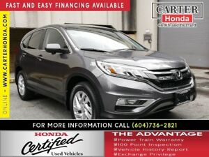2016 Honda CR-V EX + CERTIFIED 7YR/160000KMS!