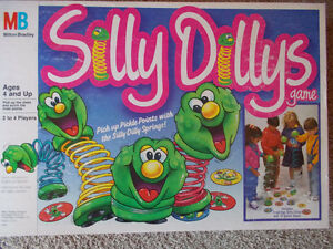 1988 Silly Dillys Game by Milton Bradley London Ontario image 1