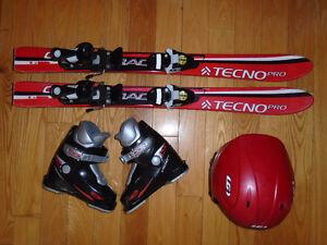 Équipement de ski alpin Junior 90 cm