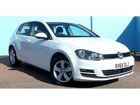 Volkswagen Golf TDi 1.6 TDI BLUEMOTION 110PS (white) 2015