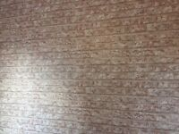 Arthouse Rustic Brick heavy weight wall paper