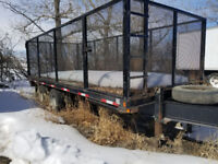 2011 20ft Heavy Duty T/A Cage Trailer w/ Ramps. Calgary Alberta Preview