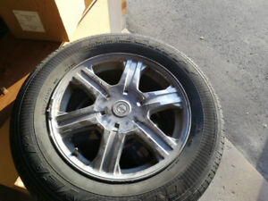 Chrysler Pacifica Rims/wheels and tires