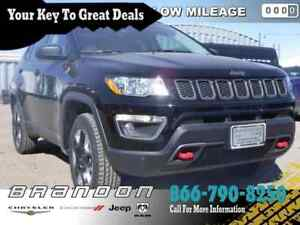 2017 Jeep Compass Trailhawk - Leather Seats -  Bluetooth