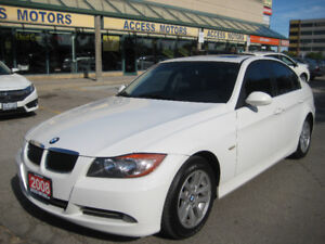 2008 BMW 3-Series, Extra Clean, Manual 6 Speed, Like New