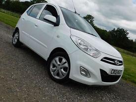 2013 HYUNDAI i10 1.2 Active WHITE**£20 ROAD TAX