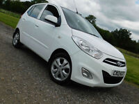 2013 HYUNDAI i10 1.2 Active WHITE**£20 ROAD TAX**£4195**
