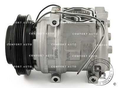 New AC A/C Compressor With Clutch Fits: 1990 - 2005 Acura Integra, NSX