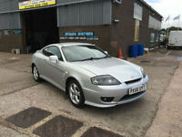 2006 56 Hyundai Coupe 1.6 S 101000 MILES WARRANTED,HALF LEATHER ,APRIL 2017 MOT