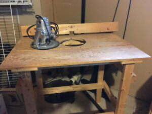 Router Table - Lee Valley template