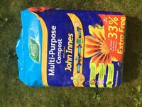Multi purpose full unopened bag of compost.
