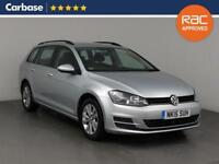 2015 VOLKSWAGEN GOLF 2.0 TDI SE 5dr Estate