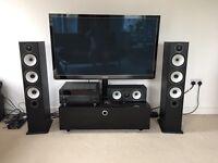 Home Cinema HD 3D TV & High end sound system