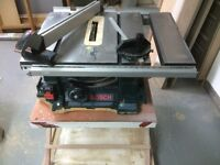 Bosch table saw - Scie a table