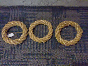 Set of 3 decorative wreaths brand new with tags