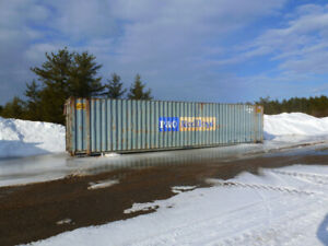 45' High Cube Storage Container ( Free delivery 40km.)