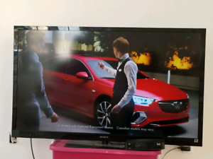 "55"" sony 1080p LED tv with built in Netflix"