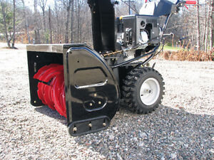 "33"" craftsman 357cc large frame dual stage snowblower /brand new"