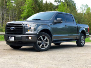 2017 F-150 XLT 302A SPORT - LOW KMS!!! FINANCING AVAIL!!!