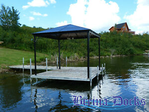 FIVE FOOT WIDE, AFFORDABLE ALUMINUM DOCKS