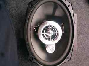 "Panasonic 6""x9"" speakers!"