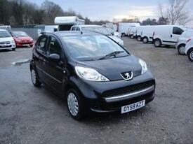 2009 Peugeot 107 1.0 Urban 5-door BLACK. **£20 ROAD TAX** 70,000 miles.