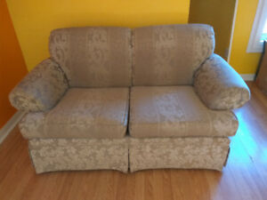 Free loveseat - ready curbside
