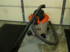 Shop Vac 16 Gallons by Ridgid with new filter