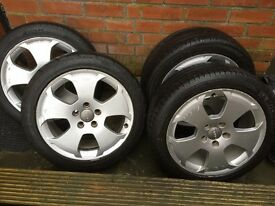 Price drop £100 Genuine Audi A3 alloy wheels 16""