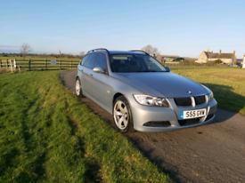 BMW 320D touring e90 2005 private plate full mot ice cold air con