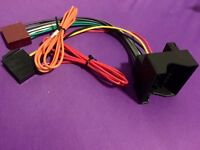 Ford Focus Mk2 ISO Stereo Head Unit Lead Adapter ST Headunit 2005-2010
