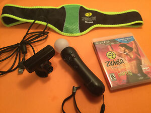 Ps3 ensemble ps move-camera-Zumba-ceinture - 70$