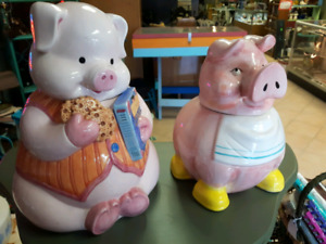 Piggie Cookie Jars