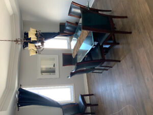 9 Dining room table set