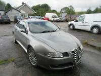 2005 '05' ALFA ROMEO GT 1.9JTD 16v COUPE 3 DOOR SILVER RED LEATHER 82,000 MILES