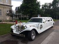 Limousine phantom excalibur pour votre mariage