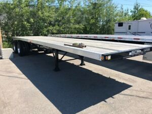 Flat bed 34' 2 essieux Combo Lodeking en stock