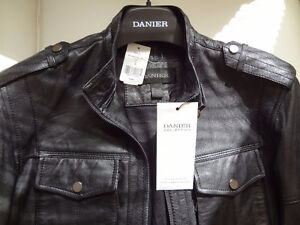 Genuine Leather Lambskin Jacket, Size S, brand new with tags Cambridge Kitchener Area image 7