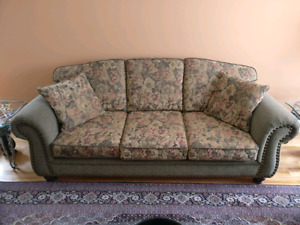 Selling barely used couch & 2 loveseats