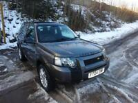 2004 '04' LAND ROVER FREELANDER 2.0 TD4 S 3 DOOR HARDBACK IN MET GREY 116,000