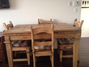 7 piece kitchen table and chairs