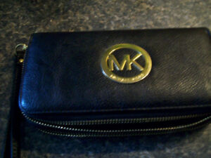 """Michael Kors wallet 8"""" x 4"""", with strap"""