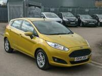 2014 Ford Fiesta 1.25,Zetec 5dr,MOT 06/04/2022. HATCHBACK Petrol Manual