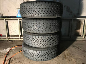 four 185/65r15 snow tires